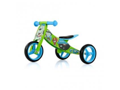 Detské multifunkčné odrážadlo bicykel 2v1 Milly Mally JAKE Bob