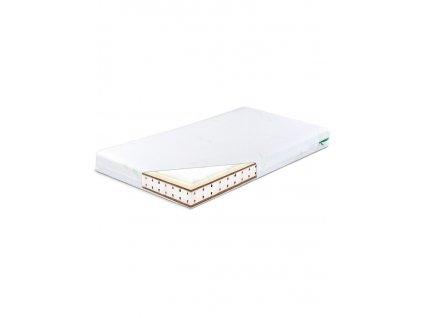 Matrac Sensillo Memory termo-molitan-kokos 140x70 cm-Aloe Vera