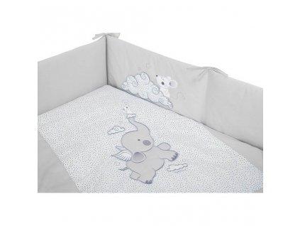 3-dielne posteľné obliečky Belisima Friends 100/135 tyrkysové