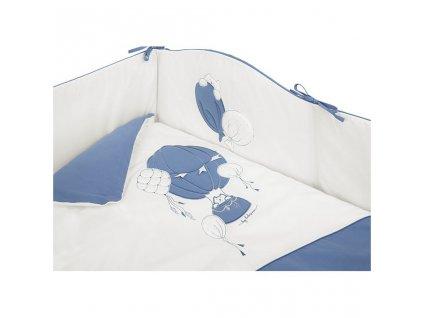 3-dielne posteľné obliečky Belisima Ballons 90/120 modré