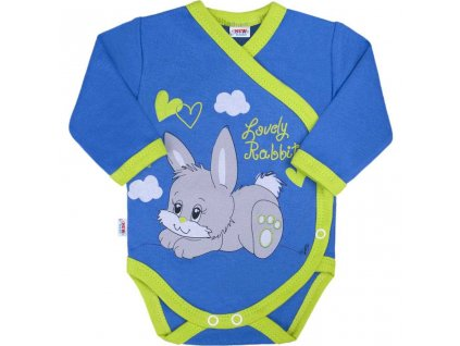Detské body s bočným zapínaním New Baby Lovely Rabbit