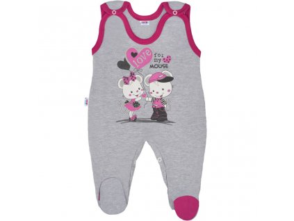 Detské dupačky New Baby Love Mouse