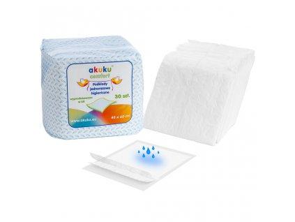 Jednorazové hygienické podložky Akuku 40x60 - 30 ks