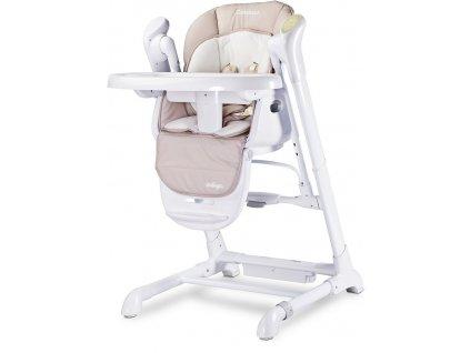 Detská jedálenská stolička 2v1 Caretero Indigo beige