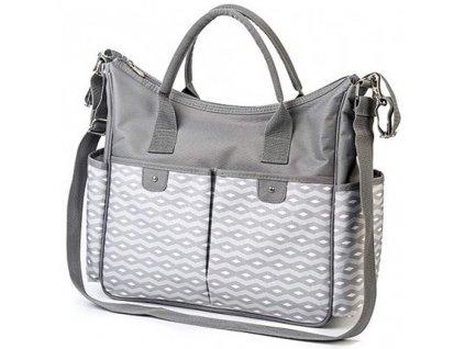 Štýlová taška na kočík BASIC SO CITY Baby Ono svetlo sivá