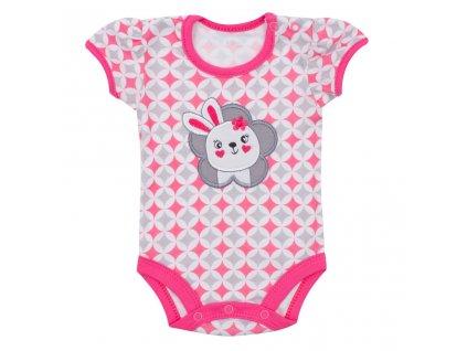 Dojčenské letné body Koala Summertime rabbit