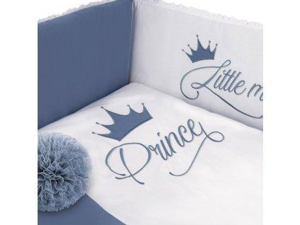3-dielne posteľné obliečky Belisima Royal Baby 100/135 modré