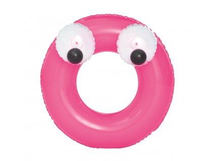 Detský nafukovací kruh Bestway Big Eyes ružový