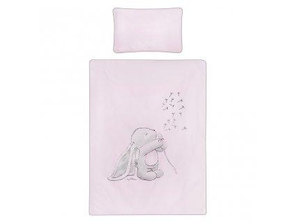 3-dielne posteľné obliečky Belisima ANDRE 90/120 ružové