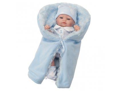Luxusná detská bábika-bábätko Berbesa Barborka 28cm