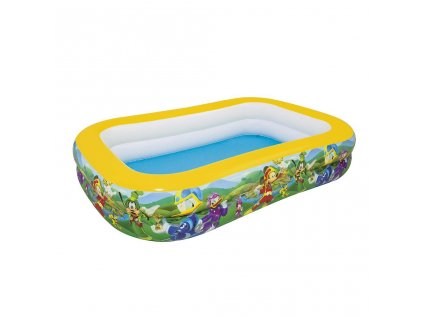 Detský nafukovací bazén Bestway Mickey Mouse Roadster rodinný