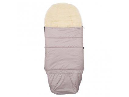 Detsky fusak NEW BABY 3v1 s ovčím rúnom ružový