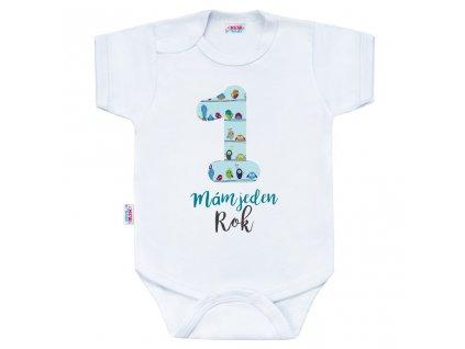 Body s potlačou New Baby Mám jeden Rok