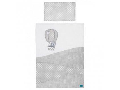 6-dielne posteľné obliečky Belisima Balón 90/120 biele