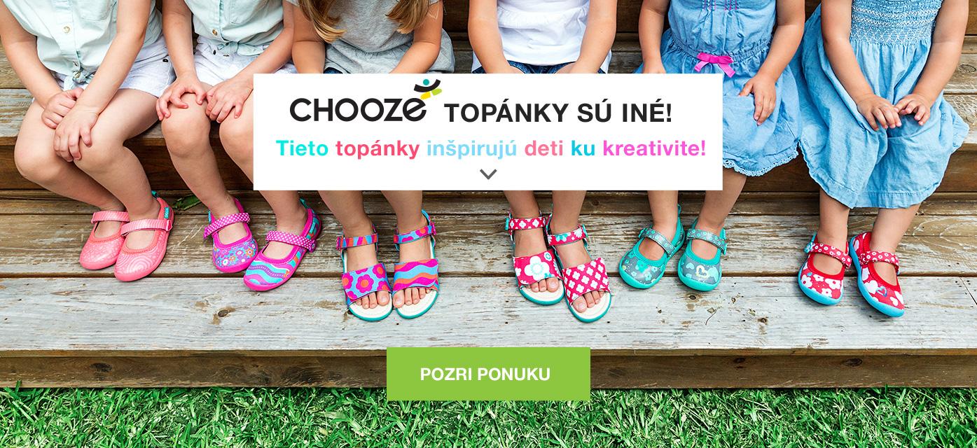 Chooze, topánky plné kreativity