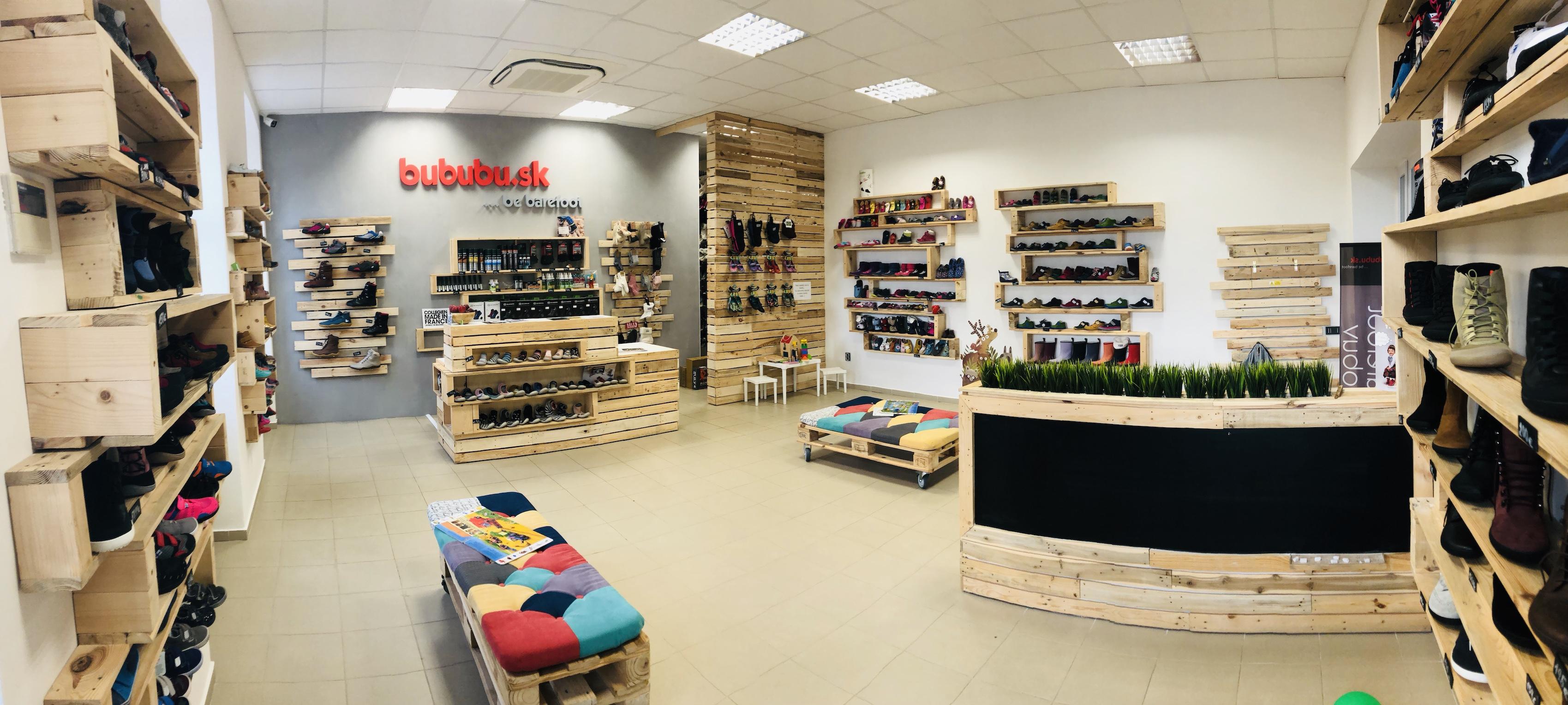 Predajňa barefoot obuvi pre deti a dospelých