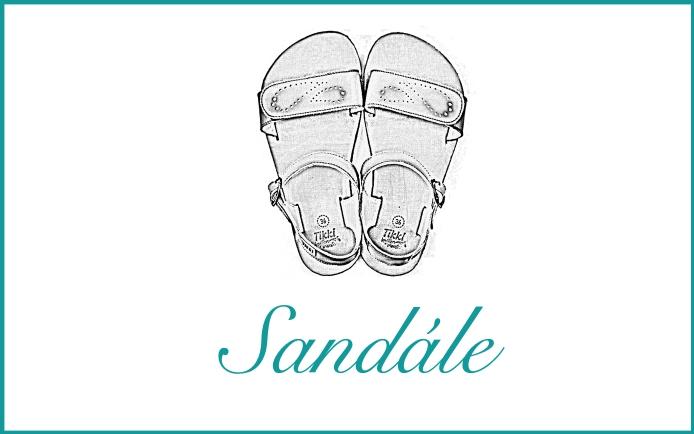 Detské barefoot sandálky