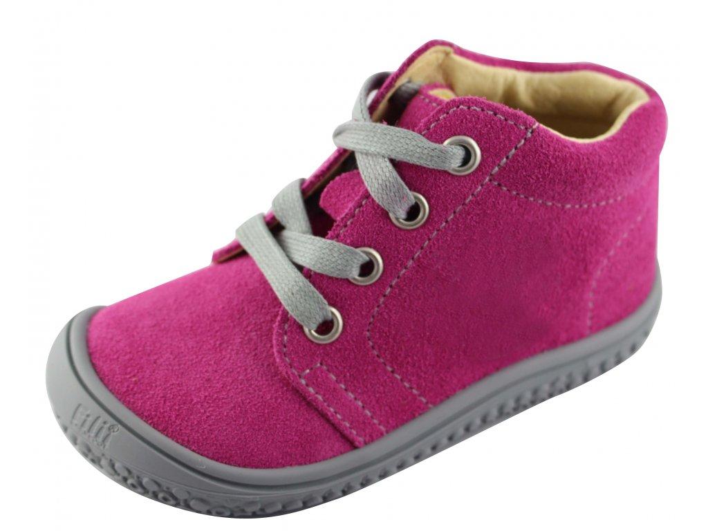 837734038db79 Kožené topánky pink/velour, W, šnúrovacie - bububu.sk