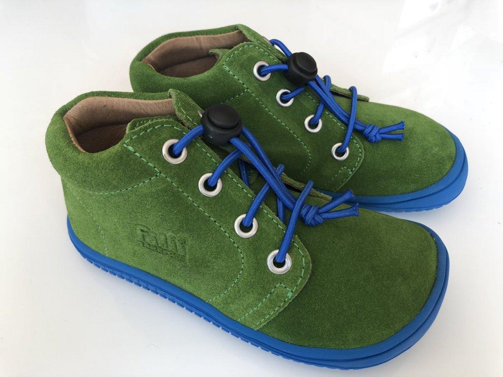 68399059c45e3 Kožené topánky apple/velour/G W - bububu.sk