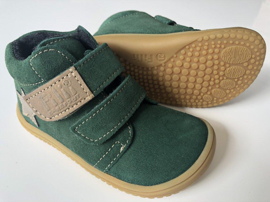 83be09087c265 Kožené topánky Forest/Fleece/Velour W - bububu.sk