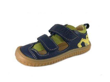 Kožené sandálky Bagger ocean/apple (Veľkosť 26)
