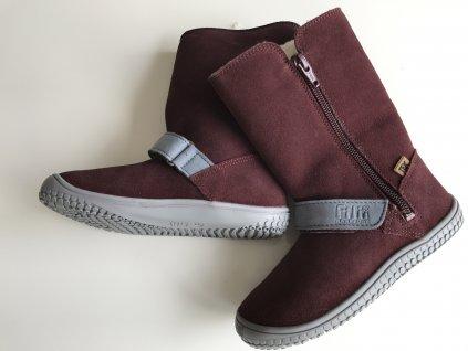 EGG boot TEX Wool berry M