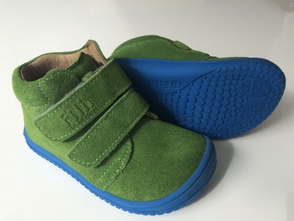 Kožené topánky Apple/velour W