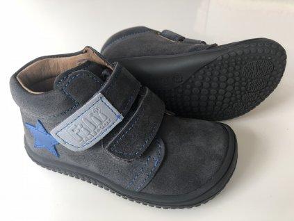 Kožené topánky graphit/velour M