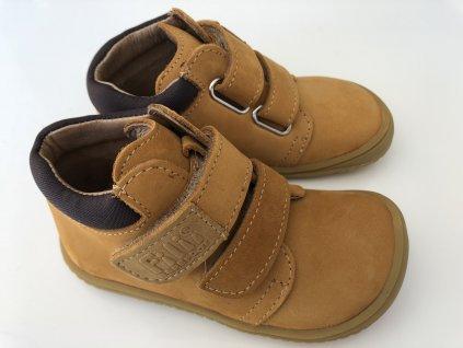 Kožené topánky nubuk/terra M