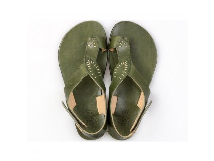 soul barefoot women s sandals green in stock 5514 4