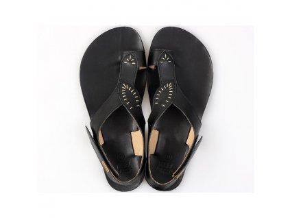 soul barefoot women s sandals black in stock 5359 4