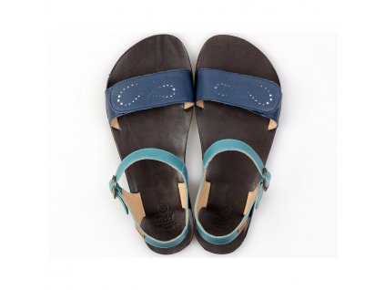 vibe barefoot women s sandals infinity blue in stock 5439 4