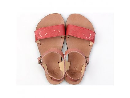 vibe barefoot women s sandals infinity red in stock 5554 4