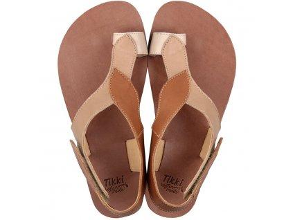 soul barefoot women s sandals caramel 15824 4