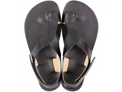 soul barefoot women s sandals black 15724 4