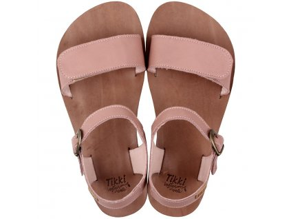funky vibe barefoot women s sandals dusty pink 16004 4