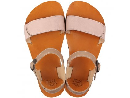 funky vibe barefoot women s sandals nude cappuccino 16104 4