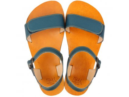 vibe barefoot women s sandals petrol blue 16144 4