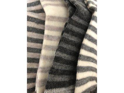 Detské ponožky Alpaka Natur, prírodné odtiene, 2 páry