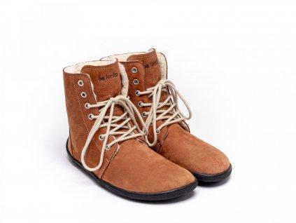 barefoot be lenka winter cognac 3482 size large v 1