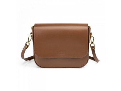 shapen kabelka audrey brown front 01