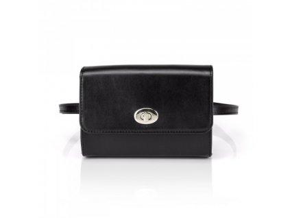 shapen kabelka beltbag black front 01