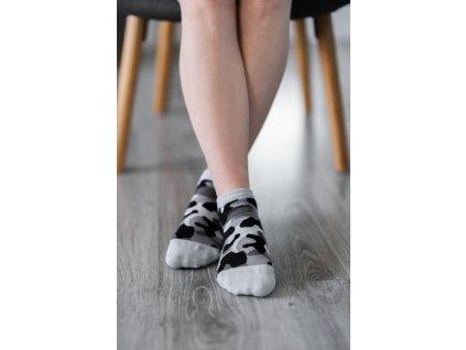 barefoot ponozky kratke maskacove 16495 size large v 1