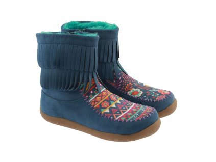 Fringe Boots in Boho (Veľkosť 33)
