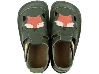 leather barefoot sandals nido felix 18174 4
