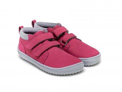 detske barefoot topanky be lenka play dark pink 23989 size large v 1