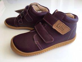 Kožené topánky berry M (Veľkosť 32)