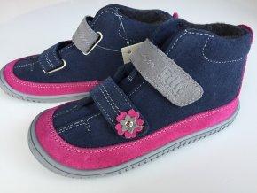 Tex Fleece Viper ocean/pink Velour M