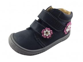 Kožené topánky ocean/flower pink/nappa M