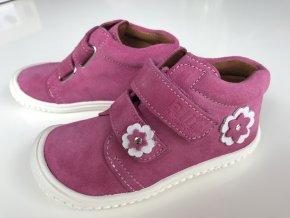 Kožené topánky rose/velour M